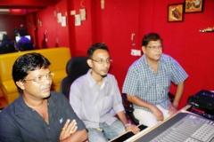 with Subhash Kale, Mohan Joshi.