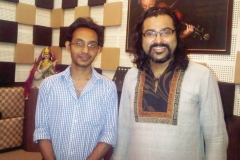 with Purbayan Chatterjee.